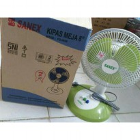 Kipas Angin Meja Kecil 8' / Desk fan Sanex FD 0887