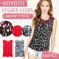 New Collection Branded Women Sleeveless Blouse & Checkered Blouse - Good Quality - Baju Wanita - Baju tanpa lengan - Women Blouse