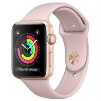 Apple iWatch Series 3 GPS 38mm Space Rose gold Sports Band.