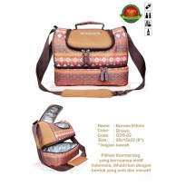 Gabag Ethnic Borneo Breastmilk Cooler Bag Dapat 2 Ice Gel