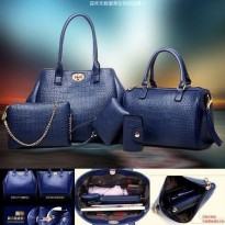 WOMAN FASHION BAGS #ELV86057 5IN1 IMPORT KOREA