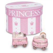 Mudpie Princess Tooth/Curl Treasure Box Set #171133