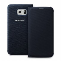 Samsung Galaxy S6 Flip Wallet - Black (Original)