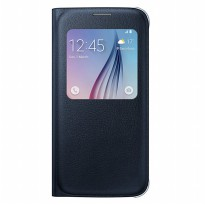 Samsung Galaxy S6 S View Cover - Black (Original 100%)
