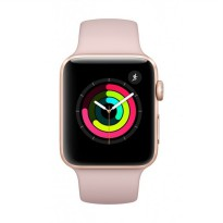 Apple iWatch Series 3 GPS 42mm Space rose gold Sport Band