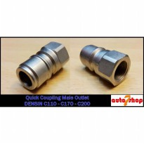 Quick Coupling Male Outlet Densin