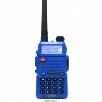 Radio Walkie Handy Talky HT BAOFENG POFUNG Dual Band UHF VHF UV-5R - Blue