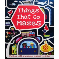 [Hellopandabooks] Things that Go Mazes with over 300 super stickers & press-outs