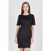 Delly Black X-Dress