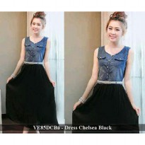 Dress Murah | JUal Dress Wanita | VE85DCBa - Dress chelsea black