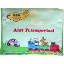 Buku Bantal / Softbook : Alat Transportasi
