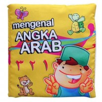 Buku Bantal / Softbook : Angka Arab