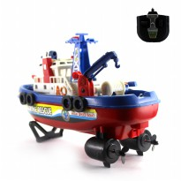 Mainan Remote Control Extreme Super Rescue Boat