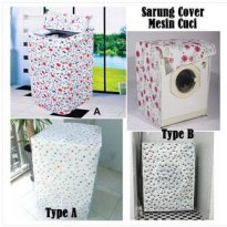 Sarung Cover Mesin Cuci Selimut Anti Air & Panas - X382 SJ0063