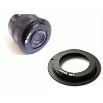 Adapter Lensa Manual M42 to EOS +AF CONFIRM CHIP ( M42 to EF mount lens adapter)