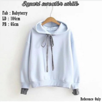 Squari Sweater White SJ0015