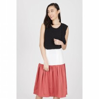Halina Skirt Red