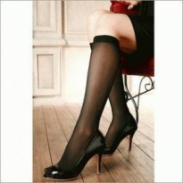 Stocking Hitam Transparan Super-Tipis