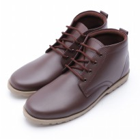 Dr.Kevin Mens Leather Boot Shoes 1036 Brown