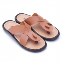 Dr. Kevin Sandals Leather 17166 Tan