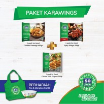 SO GOOD NUGGET PAKET KARAWINGS [FREE TAS DAN MANGKOK]