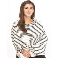 [Ready] MooiMom - Multi Use Nursing Scarf SMALL STRIPES
