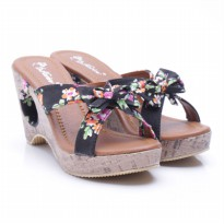 Dr. Kevin Canvas Sandals 27294 Hitam