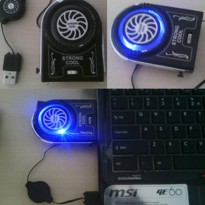 Kipas laptop - Notebook idea cooling / Portable Cooler Fan