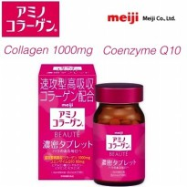 Meiji Amino Collagen Beaute Dense tablet High absorption collagen 1000mg Beauty tablet for 25 days 150 tablets