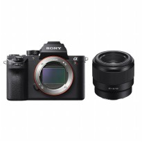 SONY Mirrorless Digital Camera Alpha a7R III + FE 50mm F/1.8 Lens