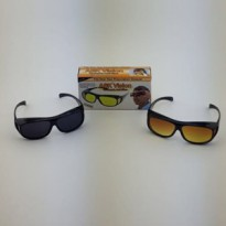kacamata ASK vision sunglass 1 box 2 pc hitam dan kuning 19692da095