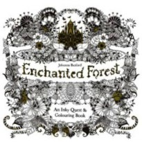 My Craft ST 7780 Enchanted Forest Colouring Books