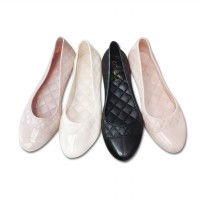Flat Jelly Shoes Elegan | Sepatu Jelly Flat - Slip On Woman Jelly Shoes