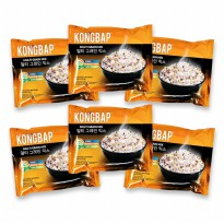 Paket 6 pcs !! KONGBAP Multi Grain Mix (6 Pcs x 25 Gr) - EXP 2020