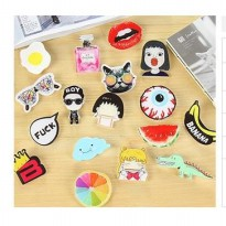 bros motif kartun Japan and South Korea fashion trend pin jbr010