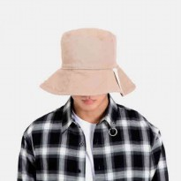 [Aintcrack] Big Bucket Hat beige