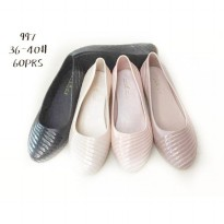 Princess Flat Jelly Shoes - Sepatu Flat Jelly | Slip On Jelly Shoes