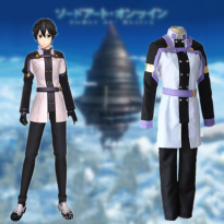 BAJU KOSTUM ANIME COSTUME COSPLAY SWORD ART ONLINE ORDINAL SCALE KIRITO