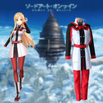 BAJU KOSTUM ANIME COSTUME COSPLAY SWORD ART ONLINE ORDINAL SCALE ASUNA