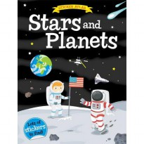 [Hellopandabooks] Sticker Atlas STARS AND PLANETS with lots of stickers to find