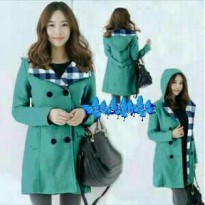 Tanic Tosca Green Coat jaket korea japan musim dingin
