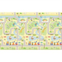 (Best Seller) CobyHaus Baby Playmat - Fisher Price SMILE ROAD (M)