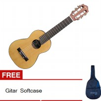 Yamaha Mini Gitar GL - 1 - Natural + Gratis Case