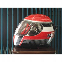 KYT RC Seven Motif #12 Helm Full Face