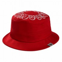 [Popularnerd] Donut Bucket hat red