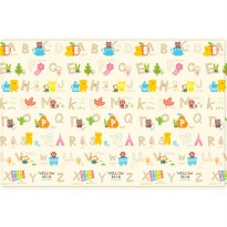 (Terbatas) Coby Haus Baby Playmat (XL) - Yellow Bear Indian