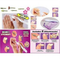 SALON SHAPER PEMBERSIH KUKU 5 IN 1 MANICURE PEDICURE SET