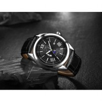 Jam Tangan Pria NAVIFORCE N9108BL/SL Original Water Resist Leather