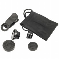 Fish Eye 3in1 Lens Universal for All Smartphone and Tablet