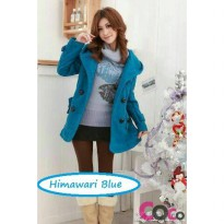 Blazer / Coat / Jacket Korea Himawari Blue